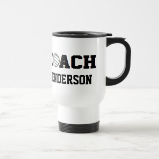 Volleyball Coach - Personalized Travel Mug