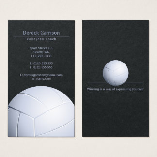 Volleyball Coach | Sport Business Card
