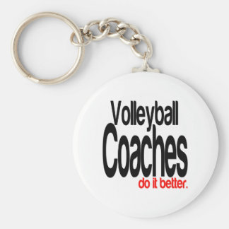 Volleyball Coaches Do It Better Key Ring
