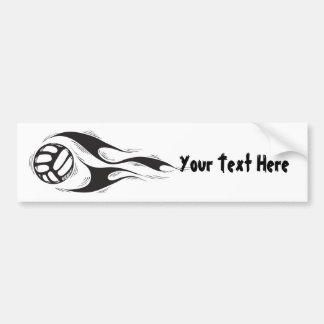 Volleyball (customizable) bumper sticker