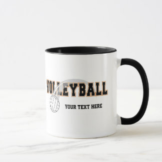 Volleyball (customizable) mug