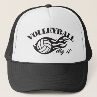 Volleyball Dig It Trucker Hats