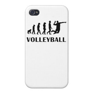Volleyball Evolution iPhone 4/4S Cover