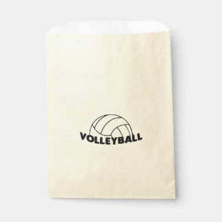Volleyball Favour Bag