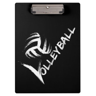 Volleyball Grunge Streak clipboard