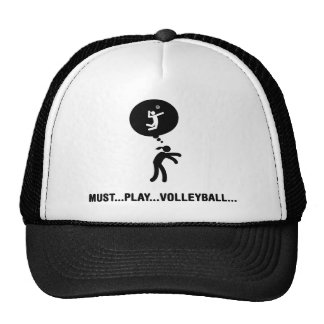Volleyball Mesh Hat