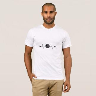 Volleyball Heartbeat T-Shirt