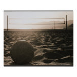 Volleyball in the Sand Print