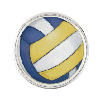 Volleyball Lapel Pin