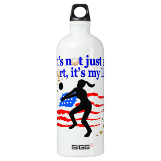 VOLLEYBALL LIFE USA FLAG DESIGN SIGG TRAVELLER 1.0L WATER BOTTLE