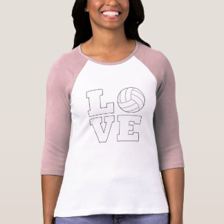 Volleyball Love 3/4 Sleeve Shirt