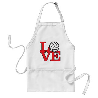 Volleyball Love Standard Apron