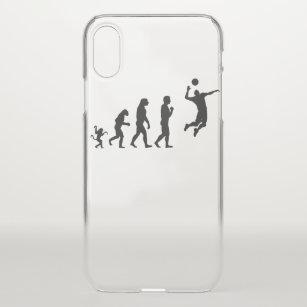 Volleyball man  evolution, #Volleyball man iPhone X Case