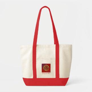 Volleyball Mom Geometric Bag