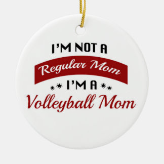 Volleyball Mom Ornament