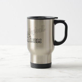Volleyball Mom Stainless Steel 15 oz Travel Mug