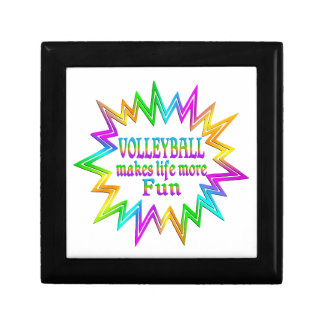 Volleyball More Fun Gift Box