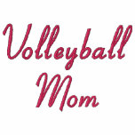 Volleyball Mum Embroidered Hoodie