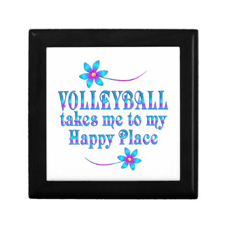 Volleyball My Happy Place Gift Box