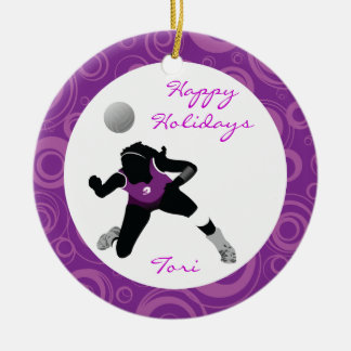 VolleyBall Ornament Personalize Digger