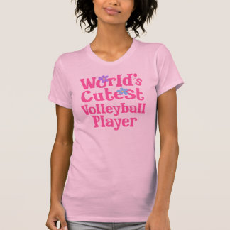 Volleyball Player Gift Idea For Her (Worlds Cutest T-shirts