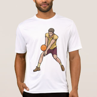 Volleyball Player Mens Active Tee