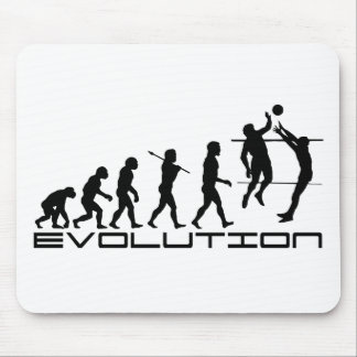Volleyball Player Sport Evolution Art Mouse Pad