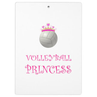 Volleyball Princess Clipboards