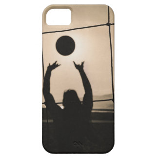 Volleyball Silhouette iPhone 5 Cases