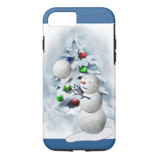 Volleyball Snowman Christmas iPhone 7 Case