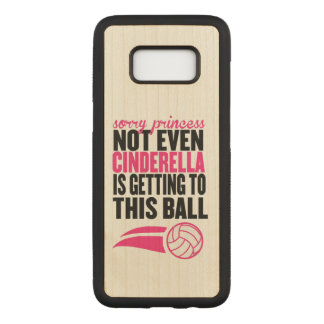 Volleyball: Sorry Princess Ball Carved Samsung Galaxy S8 Case