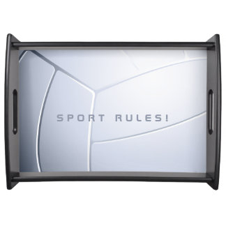 Volleyball | Sport Rules Gift Serving Tray