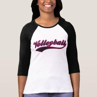 Volleyball Swash Baseball Style T-shirt