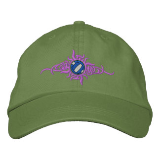 Volleyball Tribal Embroidered Baseball Cap