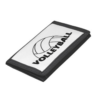 Volleyball Trifold Wallet