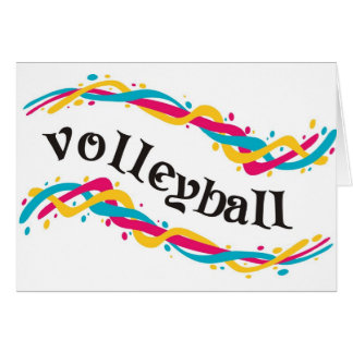 Volleyball Twists Card