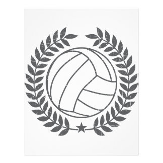 VolleyBall Vintage Graphic 21.5 Cm X 28 Cm Flyer