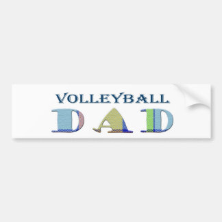 VolleyballDad Bumper Sticker