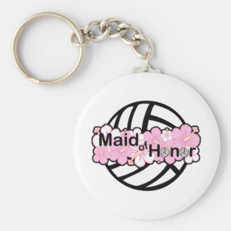 VolleyBride Maid of Honor Key Ring