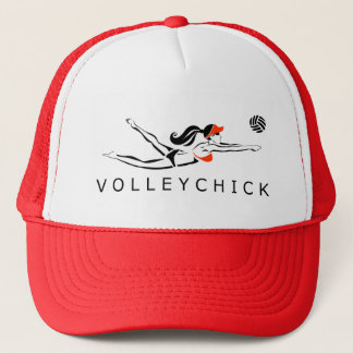 VolleyChick DiveChick 2010 Trucker Hat