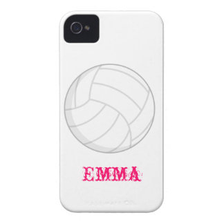 VollyBall Iphone 4 Cases Girly Gift Idea