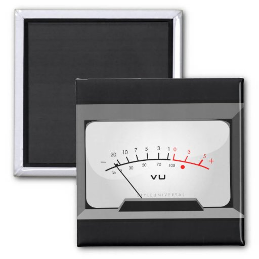 Voltage meter magnet