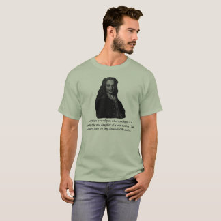 Voltaire Quote: Religion has dominated too long. T-Shirt