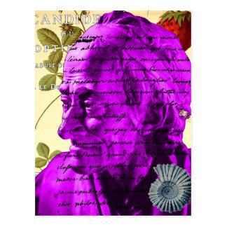 Voltaire Writer Philosopher Paris France Shell Postcard
