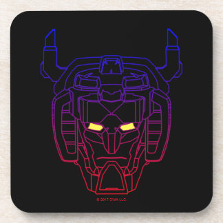 Voltron | Blue-Red Gradient Head Outline Coasters