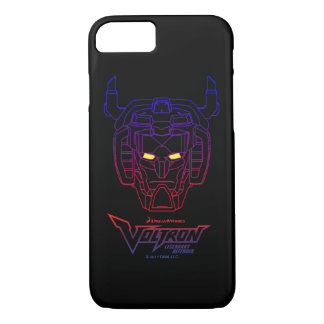 Voltron | Blue-Red Gradient Head Outline iPhone 8/7 Case