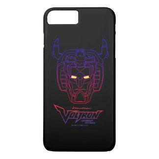 Voltron | Blue-Red Gradient Head Outline iPhone 8 Plus/7 Plus Case