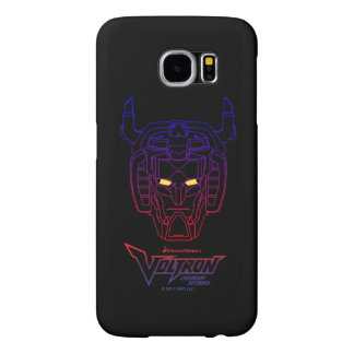 Voltron | Blue-Red Gradient Head Outline Samsung Galaxy S6 Cases