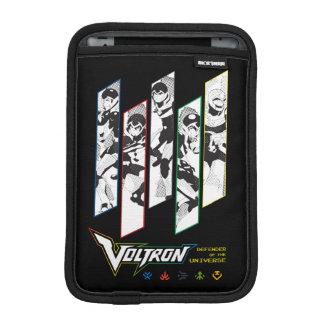 Voltron | Classic Pilots Halftone Panels iPad Mini Sleeve