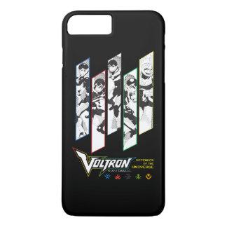 Voltron | Classic Pilots Halftone Panels iPhone 8 Plus/7 Plus Case